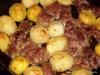 Мясо с картошкой в духовке.
