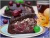 Торт «Пьяная вишня».